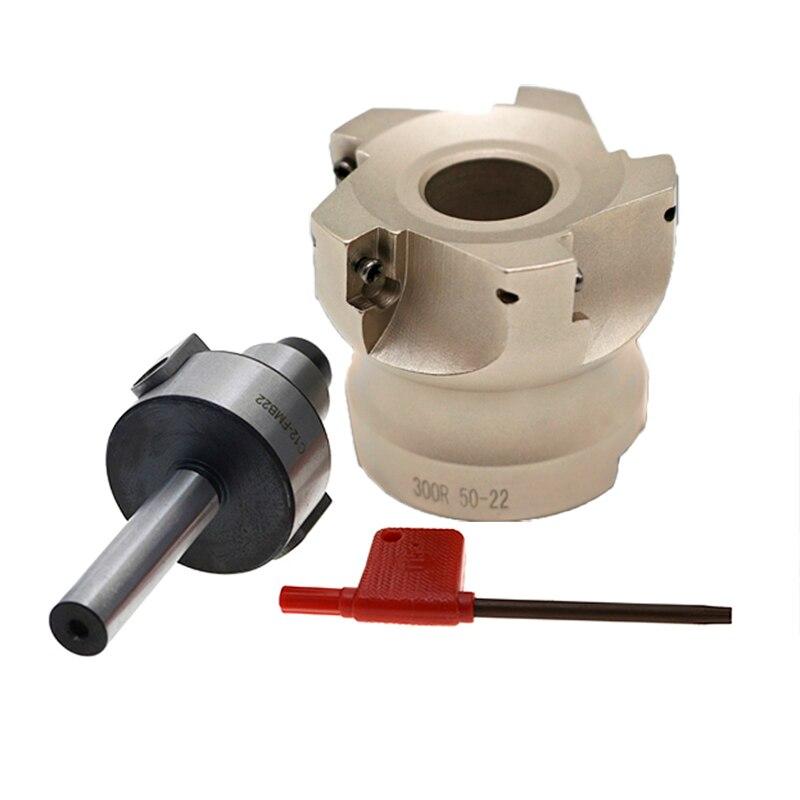 C12 FMB22 C16 FMB22 C20 FMB22 arbor adapter 300R 50 22 5T Face Milling CNC Cutter