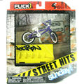 NEW Flick Trix Bmx Finger Bike Street Hits Sunday Alloy model bicycle with barrier Mini toy for boy