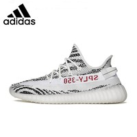 Adidas YEEZY350 White Zebra New Arrival Men Running Shoes Soft Bottom Outdoor Sports Sneakers #CP9654 CP9366 F36980