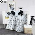 Papa&Mima Patman Cartoon Crib Set 3/4pcs cotton linens bedding set for babies/toddlers/kids duvet cover set coverlets cushion