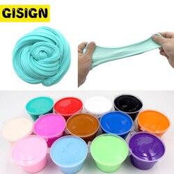 DIY caja de limo mullido suministros de arcilla suave Floam perfumado alivio del estrés algodón liberación arcilla plastilina juguetes para niños