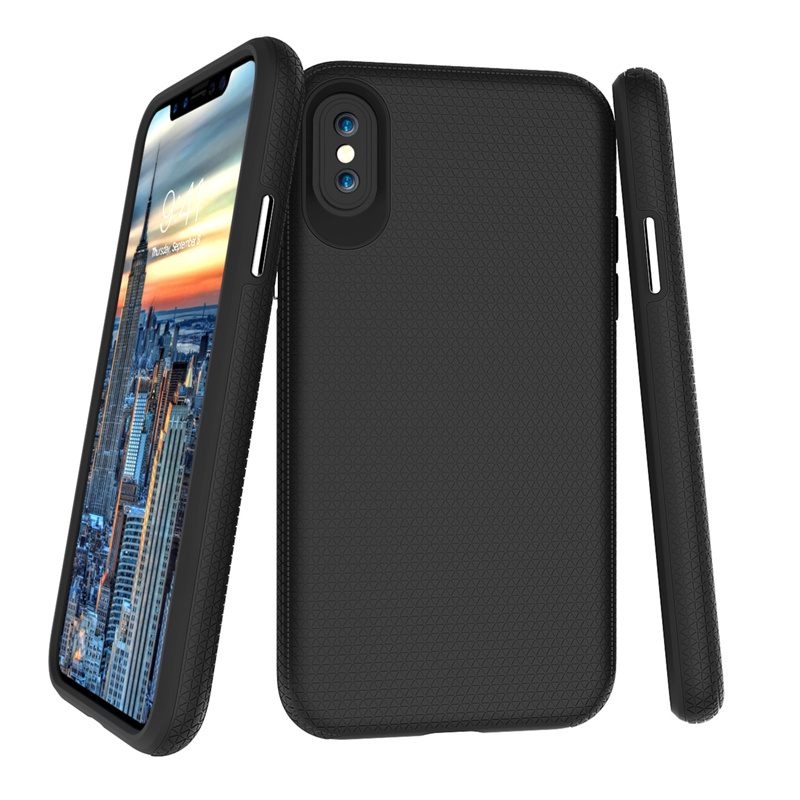 For iphone X Case Shockproof 2 in 1 hybrid armor dual protection phone case for iphone x tpu+pc Back cover for iphonex