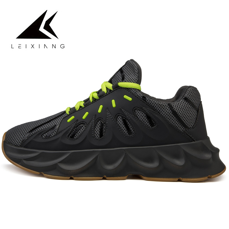 2019 Summer Sport Shoes Men Running Shoes Mesh Breathable Sneakers Light Damping New 451 Volcano Zapatillas Mujer Deportiva