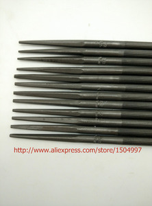 """Image 3 - #76060 MADE IN JAPAN 12 CHAINSAW FILES 7/32""""  5.5MM FOR SHARPENING ALL BRANDS CHAINS SAW SHARPENER DOZEN"""