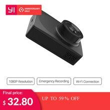 YI compacto Dash Cámara Full HD 1080 p negro del tablero de instrumentos del coche de la cámara con pantalla LCD de 2,7 pulgadas 130 WDR lente g-Sensor de visión nocturna