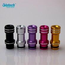 Glotech E Cigarette Aluminum 510 Drip Tips colorful Mouth 510 Drip tip E for RDA RBA RTA vaporizer DIY atomizer