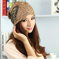 New Fashion Women Hats Cute Bowknot Lace Cap Autumn and Winter Knitting Hat Elegant Ladies Party Beanies Mesh Caps Gorras Mujer