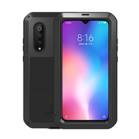 Waterproof Heavy Duty Protective Case For Xiaomi Mi 9 with glass film Case Shockproof Metal Armor Cover for Xiaomi Mi9 Case