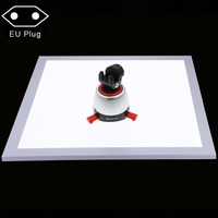 PULUZ 38x38cm 1200LM LED Photography Shadowless Bottom Light Panel for Tabletop Home Studio Shadow free Pure White Background EU