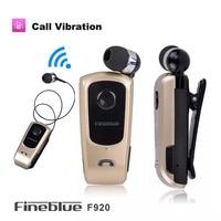 C1 Universal Original FineBlue F920 Bluetooth 4 1 Earphone Vibration Call Function Headset Stereo Telescopic Headphone