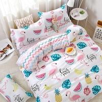 Fruits Watermelon Pineapple Pattern Bedding Set Bedding Sets