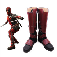 Movie Avengers 4 Endgame Quantum Realm Advanced Tech Cosplay superhero Deadpool shoes Cosplay Custom Halloween cartoon shoes