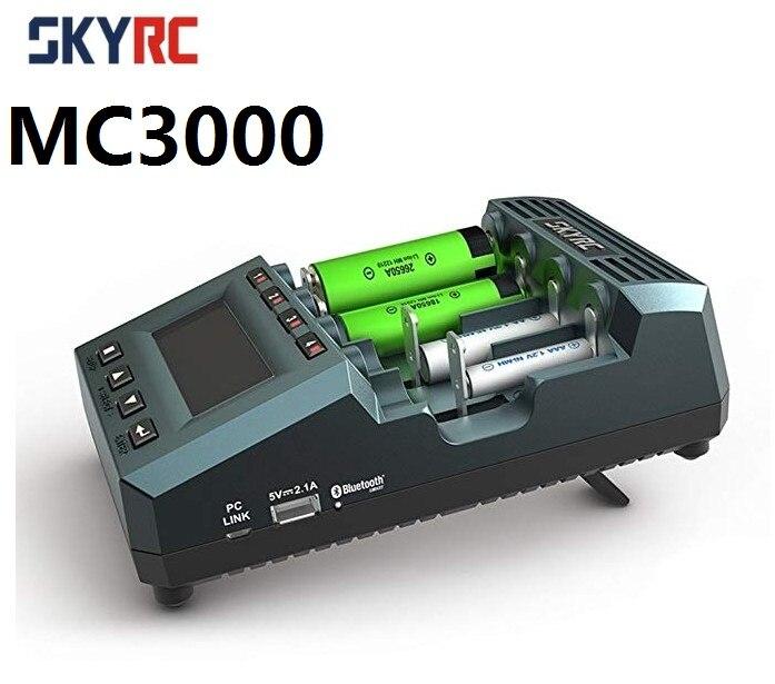 Mais novo original MC3000 SkyRC carregador equilíbrio com bluetooth cobrando por telefone para mutilcóptero helicóptero fpv rc zangão
