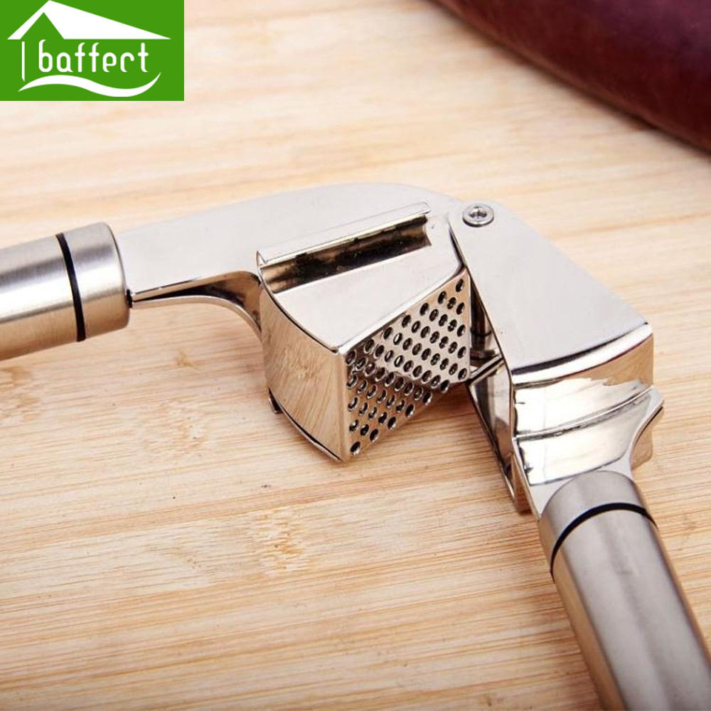 Garlic Presses Tools Kitchen Gadgets Stainless Steel Fruit & Vegetable Cooking T