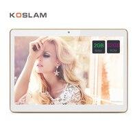 10 Pollice Android 7.0 Tablet PC Tab Pad 2 GB RAM 32 GB ROM Quad Core Play Store Bluetooth 3G Chiamata di Telefono Dual SIM Card 10