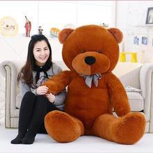 Прямая с фабрики Новинка 160 см 1,6 м огромный плюшевый медведь мягкая игрушка мягкие игрушки для детей мягкие плюшевые детские куклы большой мягкий подарок на день рождения