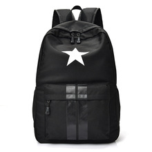 Women Waterproof Oxford Backpacks Female Pentagram Rucksack School Backpack  For Girls Fashion Zipper Travel Bag Bolsas af68bd7900