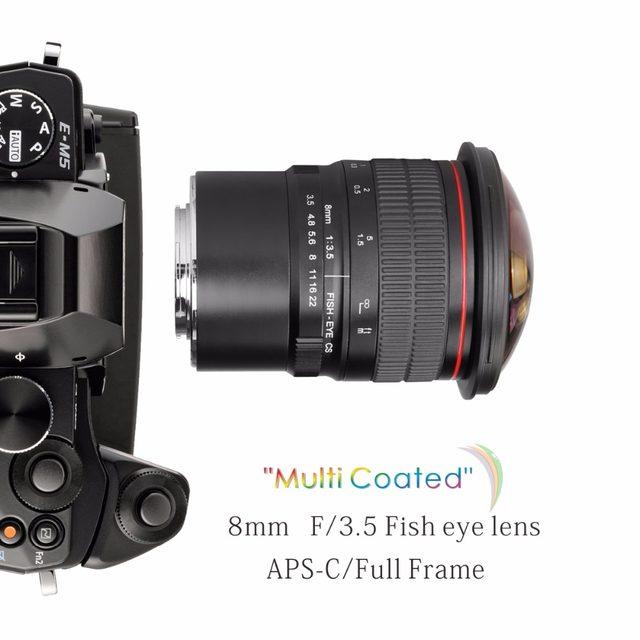 Online Shop Meike 8mm f/3.5 Fisheye Lens for Olympus Panasonic M4/3 ...