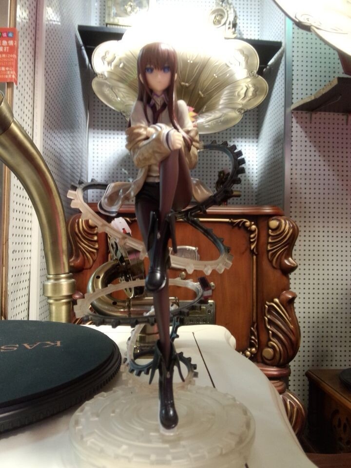 Huong Anime Figure 21 CM Steins Gate Makise Kurisu 1/8 Scale PVC Action Figure Collection Model Toy Christmas Gifts