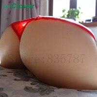 Подробные сведения о силиконовая киска мужской мастурбатор в форме попки Вагина анус Анальная пробка Секс игрушки 6 кг A603