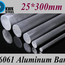 Strong-Hardness-Rod Aluminum Round-Bar Metal-Material 6061 for Industry DIY 25--300mm