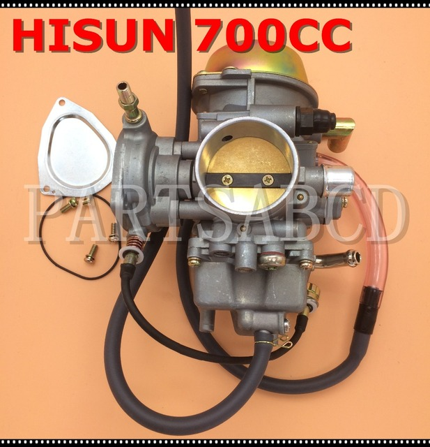 PARTSABCD Hisun 700CC ATV QUAD montaje de carburador HISUN piezas de ATV 16100 F39 0001
