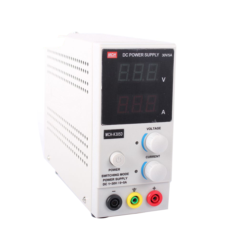 New Design MCH-K305D Mini Switching Regulated Adjustable DC Power Supply SMPS Single Channel 30V 5A Variable MCH K305D