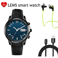 2016 Новое Прибытие Lemfo LEM5 Android 5.1 OS Smart watch поддержка wifi mp3 много app СИМ-карты bluetooth smartwatch Для Android IOS