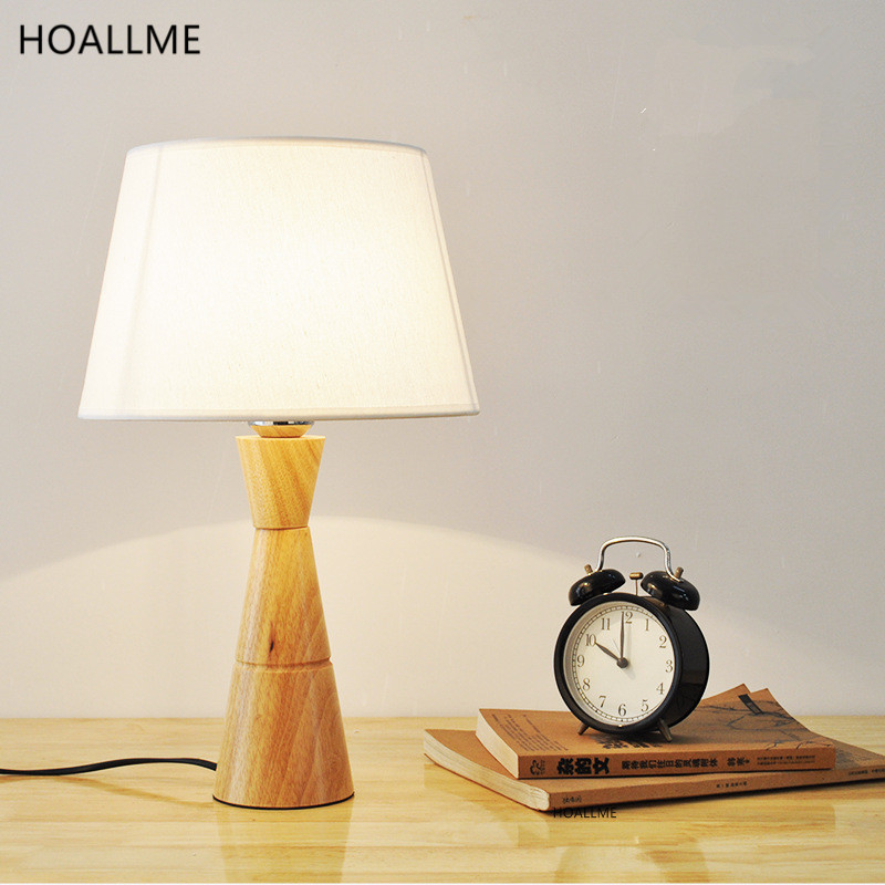 European Country Home Style Wood Led Table Lamp Modern Fashion Decorative  Bedside Light Desk Lamp for - Popular Country Style Desk-Buy Cheap Country Style Desk Lots From