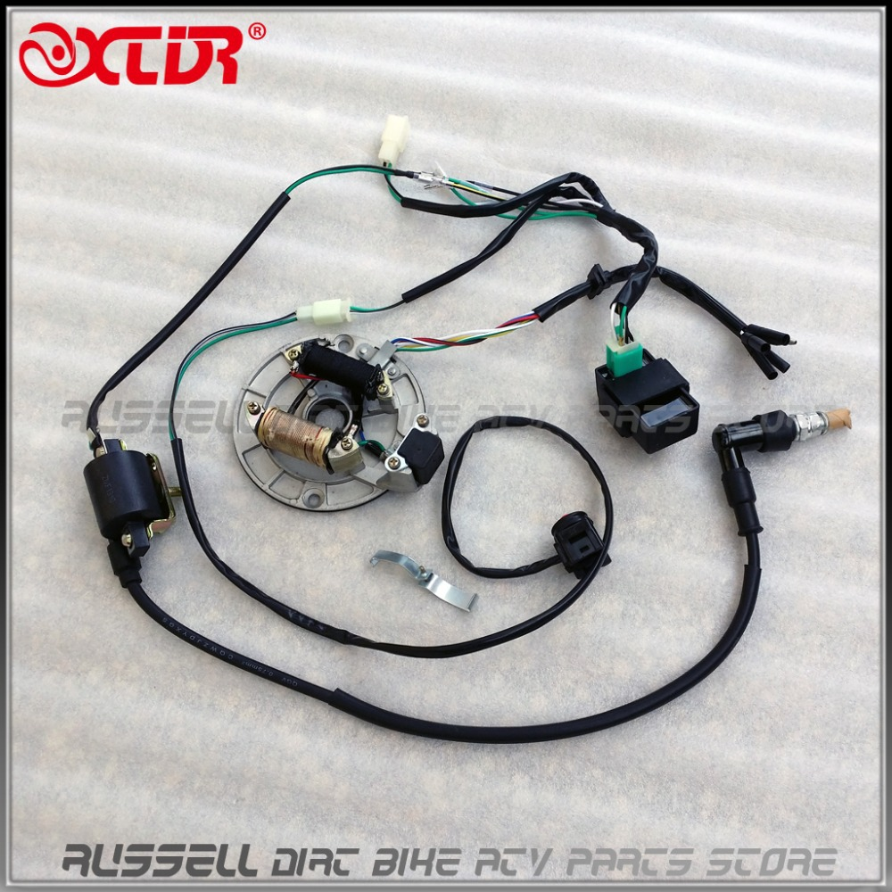 Cute Lifan 125 Wiring Harness Small Ibanez Pickups Shaped Dimarzio Pickup Wiring Color Code Remote Start Wiring Youthful 5 Way Pickup Switch BlackDiagram Of Solar System WIRE HARNESS CDI Coil MAGNETO STATOR Kill Switch Spark Plug 125cc ..