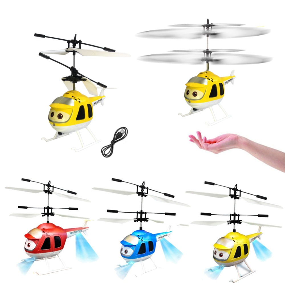 Sincere Hot Sale Helicopter Aircraft 3d Gyro Helicoptero Electric Micro Mini Infrared Sensor Helicopter Birthday Toy Gift For Kid#257747