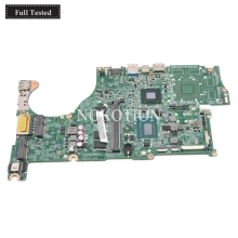 NOKOTION DA0ZQKMB8E0 NBMA311007 NB.MA311.007 For Acer Aspire V5-572 Laptop motherboard SR0XF I3-3227U CPU HD GMA WORKS