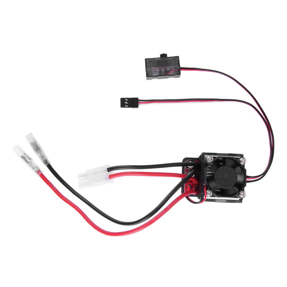 цена на 1pcs 320A Brushed Brush Speed Controller ESC With Reverse For RC Car Truck Boat Dropship