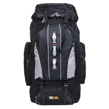 Hot Sports Backpack Male 90L 10L Outdoor Travelling Bag Unisex Hiking Backpack Tactical Rucksack Camping Fishing