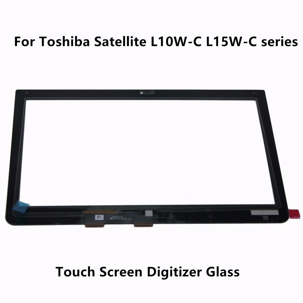 Verre de Numériseur D'écran tactile Pour Toshiba Satellite Radius L10W-B L10W-C L15W-C L15W-B1208D L15W-B1181SM L15W-B1208X L10W-B1200