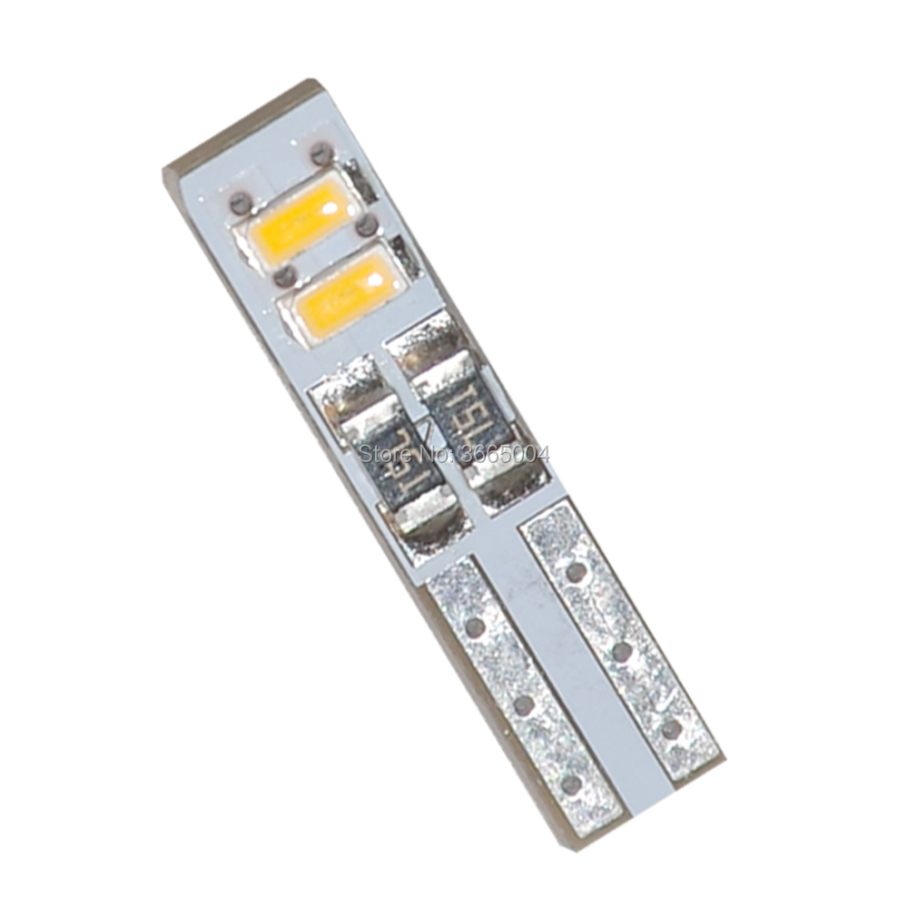 20PCS T5 12V 4 3014 SMD LED White Warm white Dashboard Gauge Light Car Signal bulbs mini in Signal Lamp from Automobiles Motorcycles