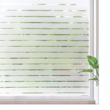 Funlife width 30/45/60cm non-sticky static glass window sticker office meeting room privacy film decorative