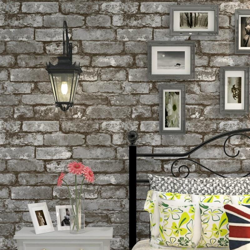 Wallpaper 3d White Brick Effect Wallpaper Roll Light Grey Modern