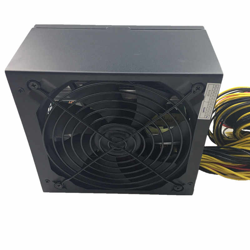 T。f。skywindintl 1600ワットpsu電源用コンピュータ6ビデオカード鉱業bitcoin鉱夫1600ワットatx pc電源110ボルト220ボルトeth