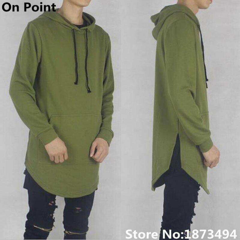 Khaki Green Hoodie Mens