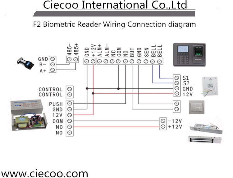 fingerprint wiring diagram