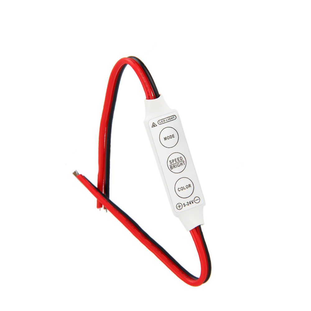 Module de commande filaire 5-24V | 1 pièce, Flash avec stroboscope, pour la voiture ou la maison, la bande ou les ampoules,
