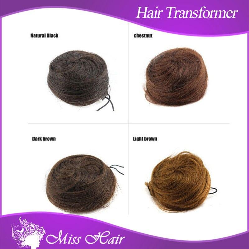 Aliexpress.com Acheter Nouvel accessoire remy cheveux bun accessoire de  cheveux de mode donut anneau queue de cheval Chignon 100% naturel postiche  Chignon