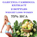 2 bottles Free Shipping! Pure garcinia cambogia extract slimming products 75% HCA loss weight diet product for women