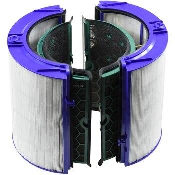Для замены Dyson (Hp04/Tp04/Dp04) Герметичная Двухступенчатая 360 градусов система фильтров