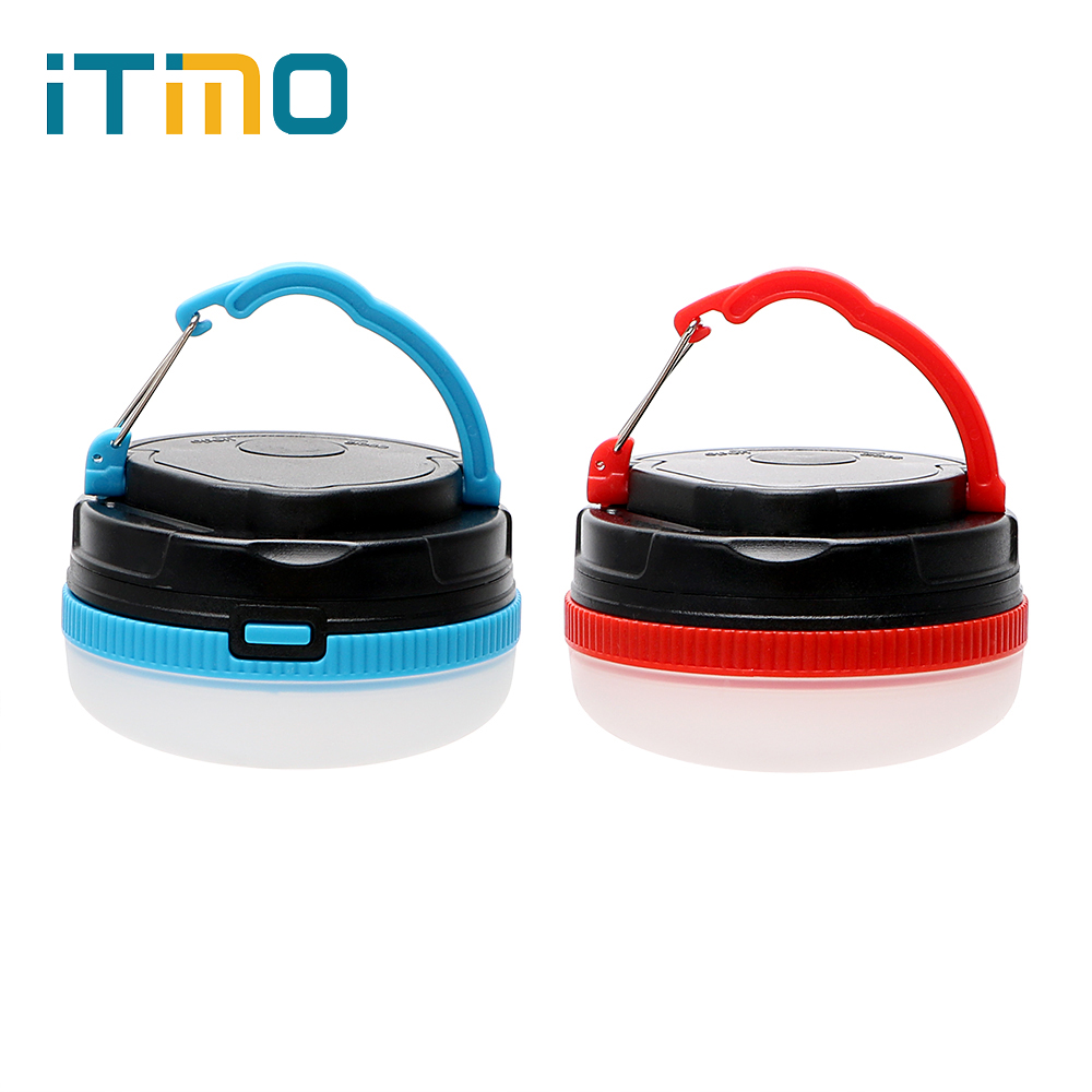 iTimo Camping Light Outdoor Lighting Emergency Lamp Magnetic 3 Modes LED Night Light Lanterns for Hiking Camper Tent