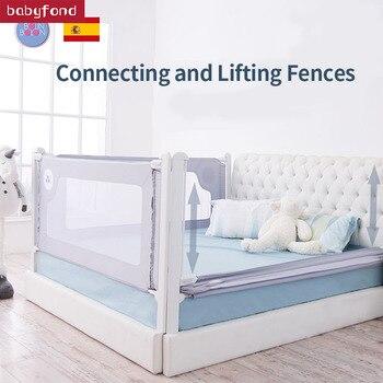 Lit de prévention de vitesse de lit de barrière de berceau de Bolin Bolon et levage Vertical de couture de sécurité supérieure