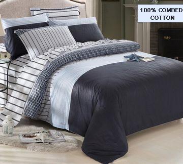 New Classic Boho Bedding Set 100 Cotton Men Comfort Duvet Cover Full