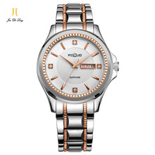 2017 New Men's quartz watch import Thin sapphire Water Resistant Push Button Hidden Clasp high quality Business casual Watch