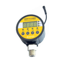 40mm~100mm full range 1/4 and 1/2 Npt thread SS LCD display PSI BAR MPa KGs digital pressure gauge manometer controller